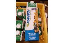 Oasis Pineapple Juice - 12 x 96