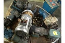 Motors/Gear Boxes. Lot (6) Moto