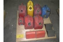TWO Sets of Wheel Chocks & Misc