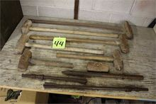 Lot of Assorted Sledge Hammers