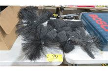 Furnace cleaning brushes.