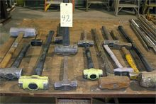 LOT OF SLEDGE HAMMERS