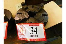 """Used 10"""" 4-Jaw Chuck"""