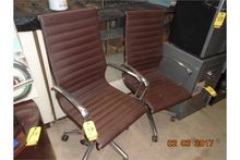 LEATHER SWIVEL CHAIRS