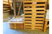 (9) Custom Built Pallets