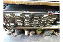18-Drawer Storage Bin, W/Conten