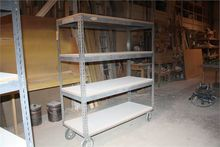Portable Steel Inventory Racks