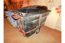(2) Rubbermaid Dump Hoppers