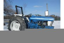 1983 Ford 6610 tractor 2wd. Reb