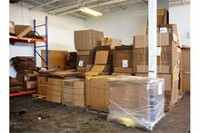 Lot - Corrugated Cartons & Fill