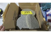 "Stone floor pads 7"", 400 grit."