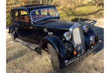 1937 Rover 12hp Six Light Saloo