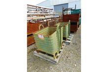 (2) Metal Stackable Pallets, (2