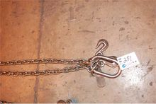 "2 strand 3/8"" lifting chain w/p"
