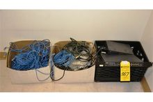 Lot - Computer Wires, Routers,