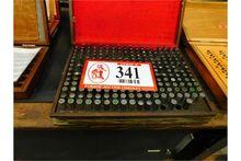 (2) Set Pin Gauges, .041-.500