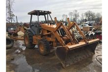 Case 590SL Series II Loader/Bac