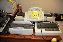 Lot - 4 Printers & 1 Fax Machin