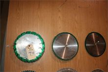 Assorted Round Saw Blades
