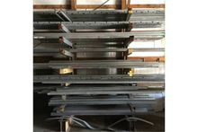 (1) Cantilever rack, free stand