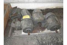 FOUR Used Elec. Motors (WET)