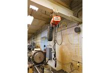 Max 1/2-Ton Electric Hoist, W/T