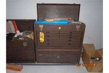 KENNEDY TOOL BOX, LOADED