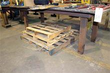 WELDING TABLE, H.D., 6' x 4'