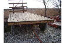 7' x 16' hay wagon