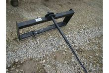Bale spear for skid steer