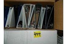 Binders Assorted Sizes Aprox. 1