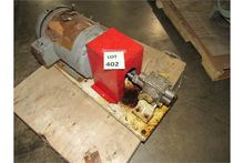 Small Gear Pump with Relief Val