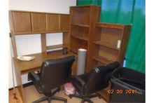 LOT COUCH, CHAIR, DESK, BOOK CA