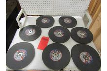 "Lot of 19 New 10"" Grinding / Cu"