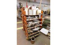 Cart W/Contents, Misc. Aluminum