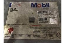 DRUM WITH MOBIL SYNTHETIC OIL S