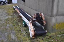 "32' belt conveyor, 16"" belt, 3-"