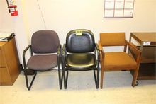 (3) ARM CHAIRS