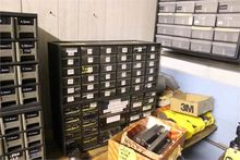 PARTS CABINETS WITH CONTENTS