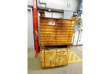 (2) Metal Stackable Pallets, W/