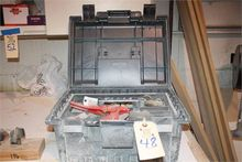 Toolbox with PVC Cutter, cement