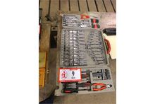 Tool Kit W/Wrenches, Sockets, S
