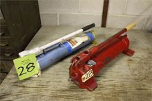 Lot of (2) Hydraulic Hand Pumps