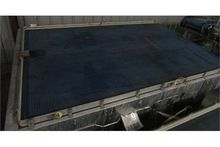 """96"""" wide x 12' long stainless s"""