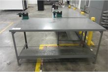 (2) Workbenches with 50 Taper P