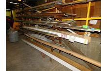Metal Storage Rack, W/Contents,