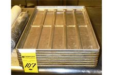 "Ten Loaf Sheet Pans, 17""x25"""