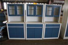(3) Medical Storage Cabinets