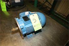 WEG 3 hp Motor, 1740 RPM, 208/2