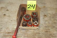 Lot of Hand Pipe Threading Tool